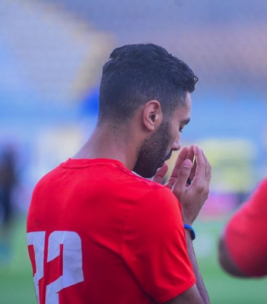 Photo shared by Al Ahly SC on July 29, 2021 tagging @husseinelshahat_74. May be an image of 1 person and playing football.