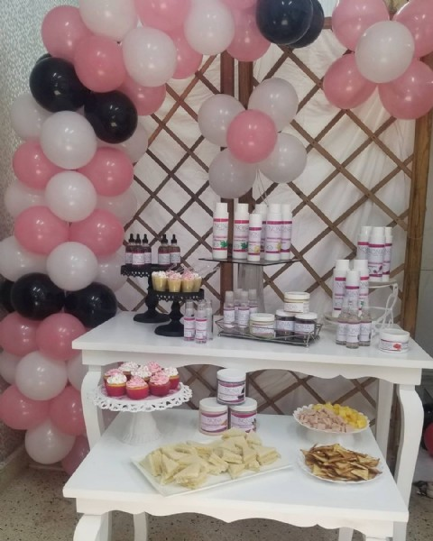 Photo by Nona Body Care and Hair on June 01, 2021. May be an image of food, balloon and indoor.