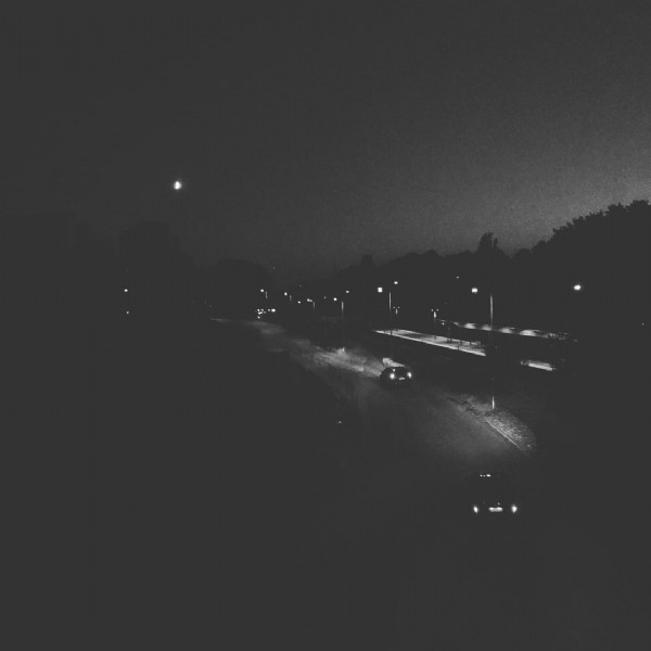 Photo by Emelie Em Stenmarck in Nacka. May be a black-and-white image of road and sky.