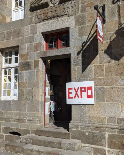 Photo by Marie Vinouse in Combourg. May be an image of outdoors and text that says 'EXPO'.