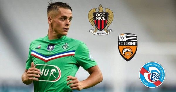 Photo by @asse42ryan7 in Saint-Étienne with @ogcnice, @asseofficiel, @fclorient, @rcsa, and @r.hamouma21. May be an image of 1 person and text.
