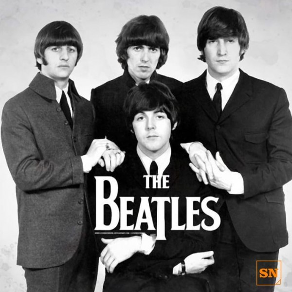 Photo by SuNoticiero on June 18, 2021. May be an image of 4 people and text that says 'BEATLES THE SN'.