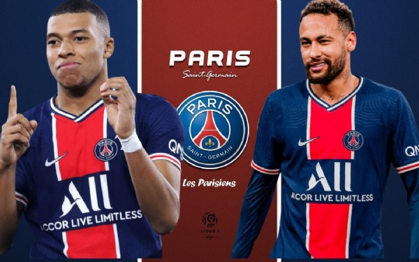 Photo by Editz on June 05, 2021. May be an image of 2 people and text that says 'PARIS Saint Germain PARIS SAINT GERMAIN Les Parisiens CCOR LIVE All LIMITLESS All A.COR LIVE LIMITLESS'.