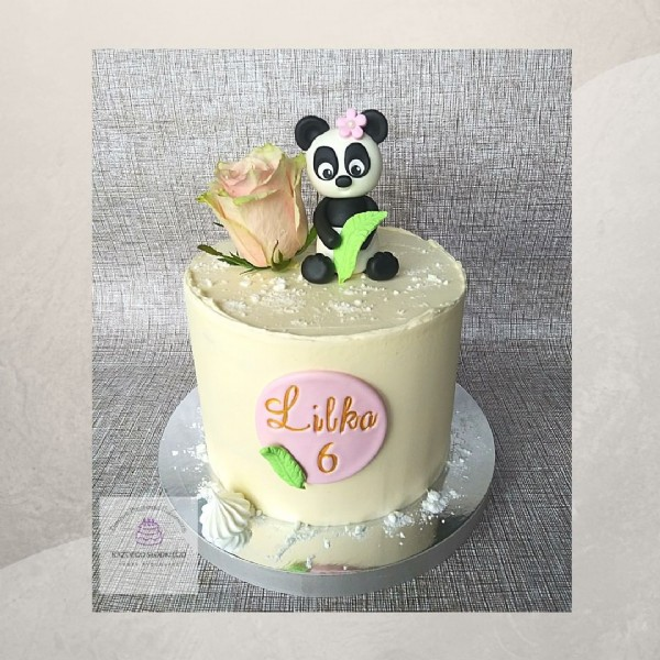 Photo by Torty | Muffiny | Bydgoszcz on June 18, 2021. May be an image of cake, flower and text that says 'Lilka 6'.