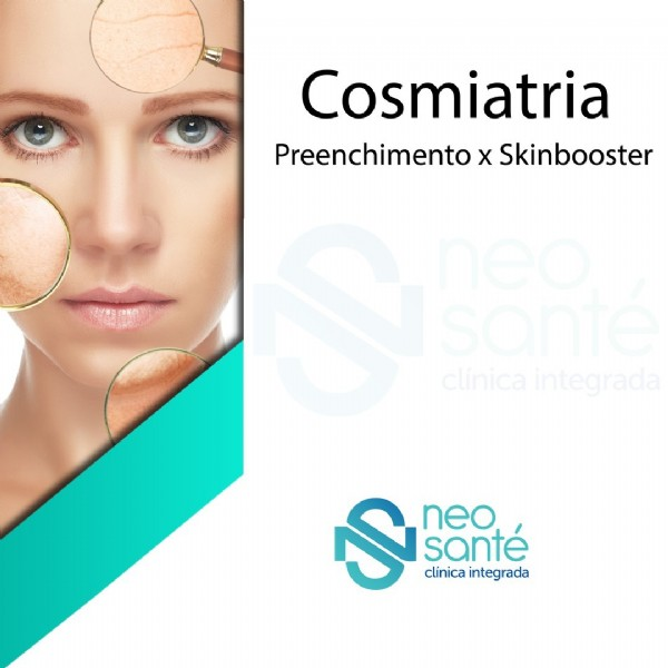 Photo by Neo Santé Clínica Integrada on June 22, 2021. May be an image of 1 person and text that says 'C Cosmiatria Preenchimento X Skinbooster clínica clínicaintegrada S S neo. santé clínica integrada'.