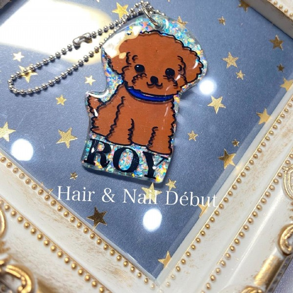 Photo by Hair & Nail Début in Hair&NailDebut. May be an image of 1 person and text that says 'ROY Hair & Nail Début'.
