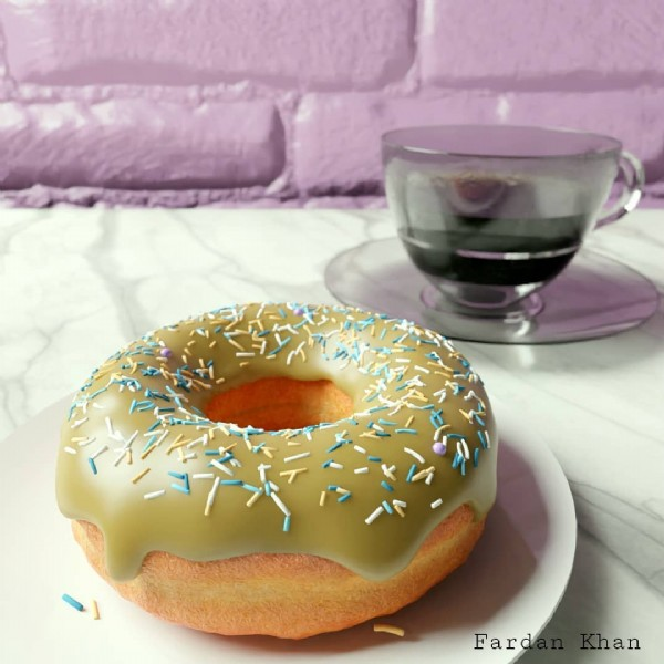 Photo shared by Fardan Khan on June 08, 2021 tagging @andrewpprice, @fardankhan_97, and @blender.official. May be an image of dessert, indoor and text.