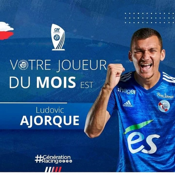 Photo shared by la_teamrcsa  on June 03, 2021 tagging @ludovic_ajorque25. May be an image of 1 person and text.