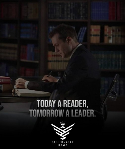 Photo by BH  | Motivation Money on June 09, 2021. May be an image of 1 person and text that says 'TODAY A READER, TOMORROW A FADER BILLIONAIRE HAWK'.
