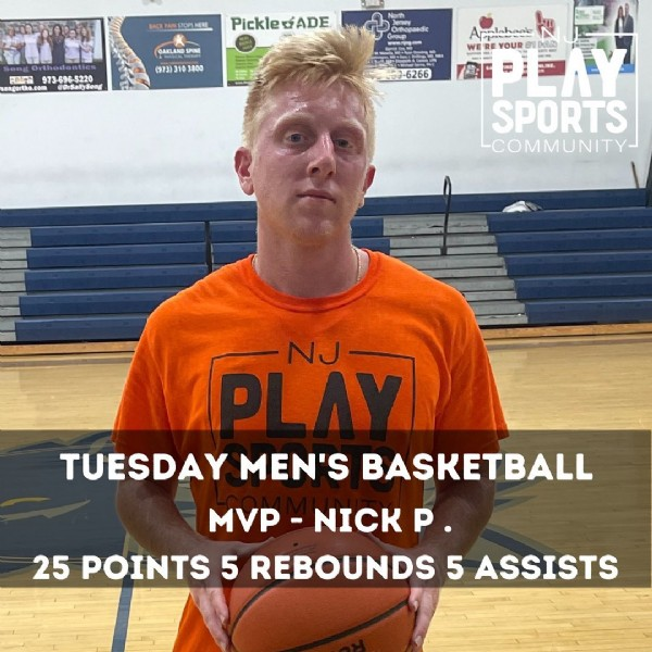 Photo by NJ Play Sports on June 07, 2021. May be an image of 1 person, ball and text.
