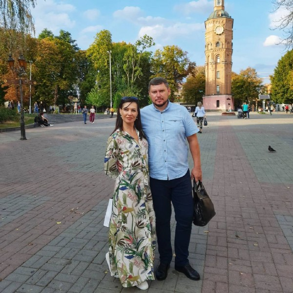 Photo shared by Татьяна Шпильчак on September 26, 2020 tagging @bogdan_shpilchak, and @shpilchaktatiana. May be an image of 2 people.