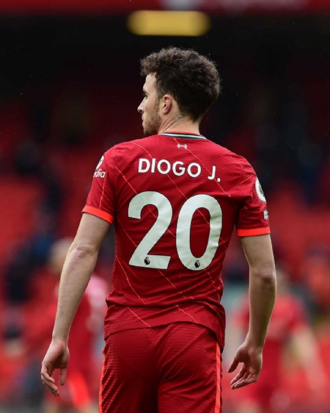 Photo shared by Liverpool Football Club on June 19, 2021 tagging @diogoj_18. May be an image of one or more people.