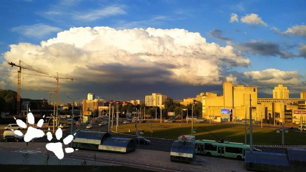 Photo by Отец Аномалий on June 11, 2021. May be an image of cloud.