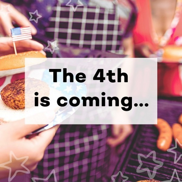 Photo by Mable on June 09, 2021. May be an image of text that says 'The 4th is coming...'.