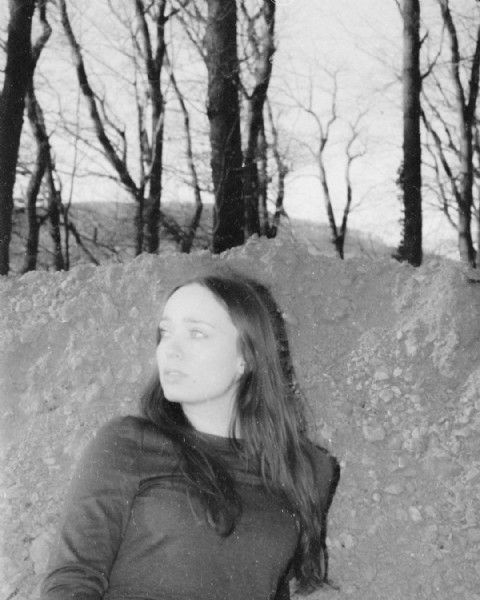 Photo shared by jan klein * on August 02, 2021 tagging @vivienneaudrey. May be a black-and-white image of 1 person and outdoors.