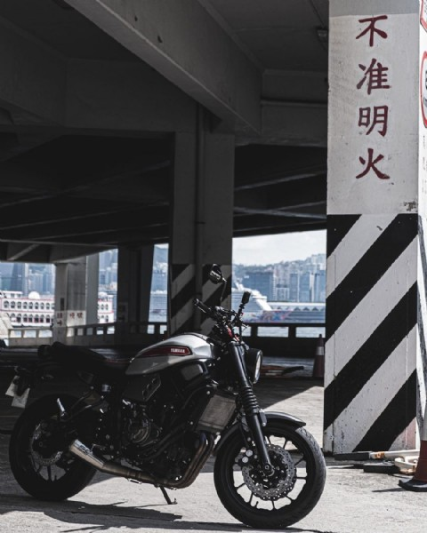 Photo by MotoRobot_HK in Hong Kong with @fastersonsfans, @jvb_moto, @scprojectexhaustofficial, @xsrfanclub, and @xsrspain. May be an image of motorcycle.