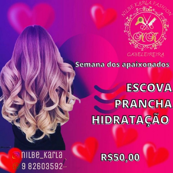 Photo by Anuncie aqui Itapira e Região in Itapirapuã, Goias, Brazil with @nilbe_karla. May be an image of one or more people, long hair and text.