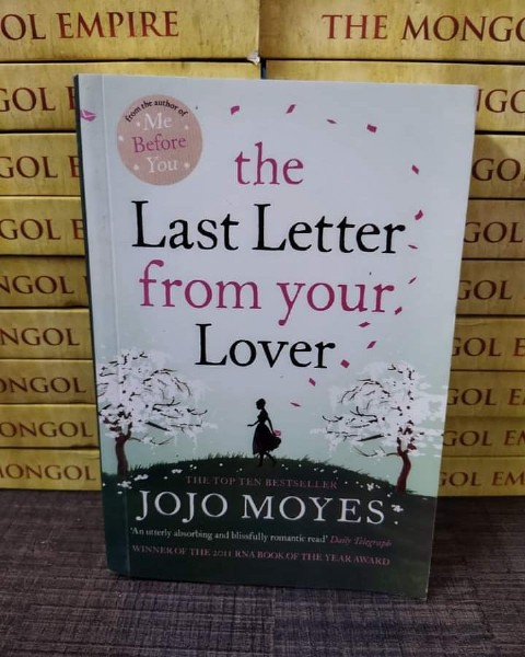 Photo by BooksOnDemand on August 03, 2021. May be an image of book and text that says 'OL EMPIRE OL THE MONGO GOL G GOLE from Me Before You the Last Letter from your, Lover. ONGOL JOJO MOYES'.