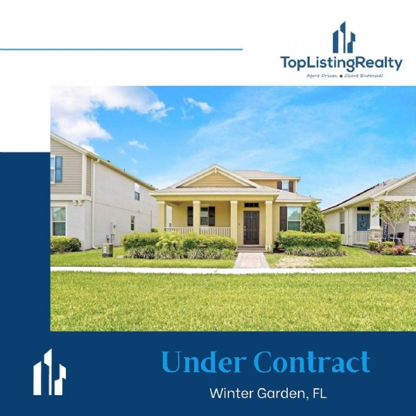 Photo by Top Listing Realty® in Winter Garden, Florida. May be an image of text.