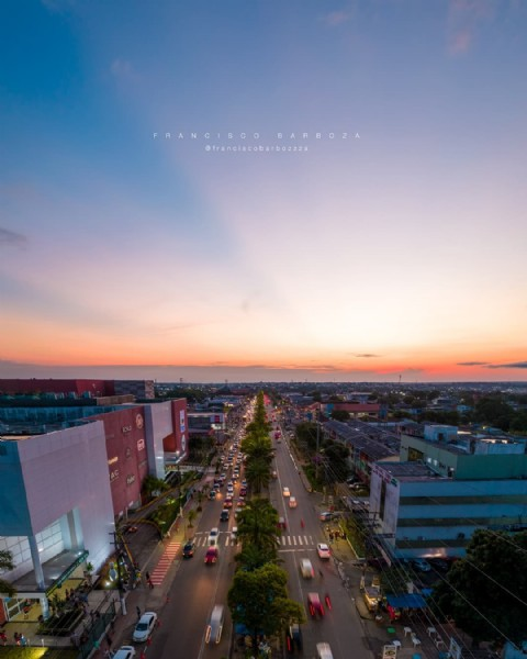 Photo by Francisco Barboza in Manaus, Brazil. May be an image of sky and twilight.