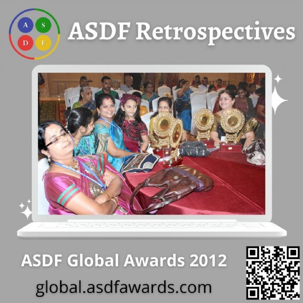 Photo by ASDF International on June 19, 2021. May be an image of 9 people and text that says 'S ASDF Retrospectives ASDF Global Awards 2012 global.asdfawards.con'.