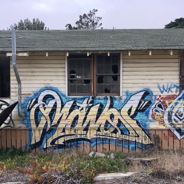 Photo by Graffiti/Street Art/Urbex on July 26, 2021. May be an image of outdoors.