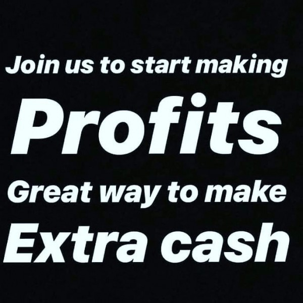 Photo by Croswell Chunchun on June 14, 2021. May be an image of text that says 'Join us to start making Profits Great way to make Extra cash'.