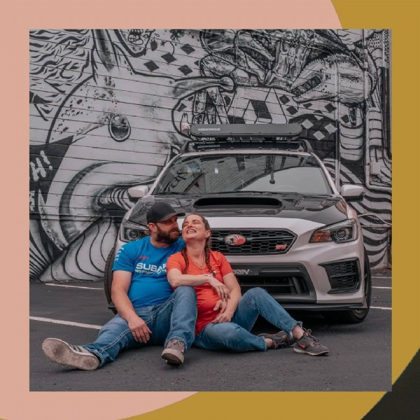 Photo shared by River + Thorin on August 02, 2021 tagging @subaru_usa, @orsinivinylanddesigns, and @madsubie707. May be an image of 1 person and outdoors.