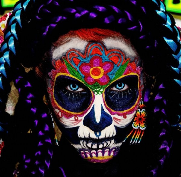 Photo shared by Okanagan Mexican Folklore on July 31, 2021 tagging @bcwinefest. May be a closeup of 1 person and braids.