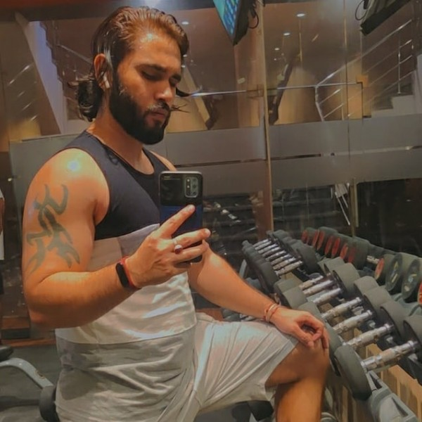 Photo by Sahill Seth on June 20, 2021. May be an image of 1 person, biceps, beard, standing and indoor.
