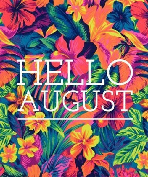 Photo by Biodiet Shop on July 31, 2021. May be an image of text that says 'HELLO AUGUST'.