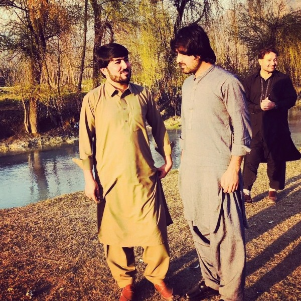Photo shared by Riaz Ahmad on July 26, 2021 tagging @shafiqkhanofficial, and @riaz_yousafzai_901. May be an image of 3 people, people standing and outdoors.