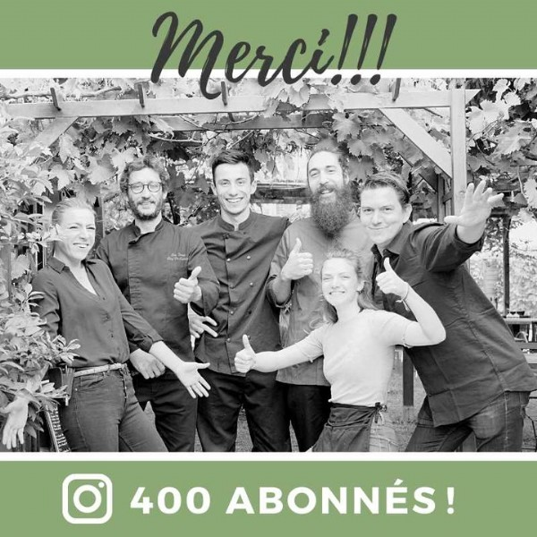 Photo by Les jardins de la Cépiére on June 13, 2021. May be an image of 6 people and text.