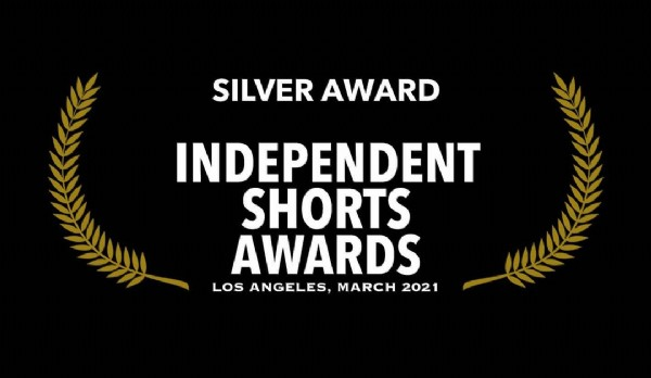 Photo shared by One Eye Wilde on April 21, 2021 tagging @independentshortsawards. May be an image of text that says 'SILVER AWARD INDEPENDENT SHORTS AWARDS LOS ANGELES, MARCH 2021'.