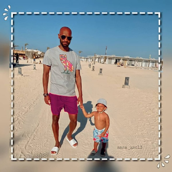 Photo by  ✯ on July 20, 2021. May be an image of 1 person, child, standing, sunglasses and outdoors.