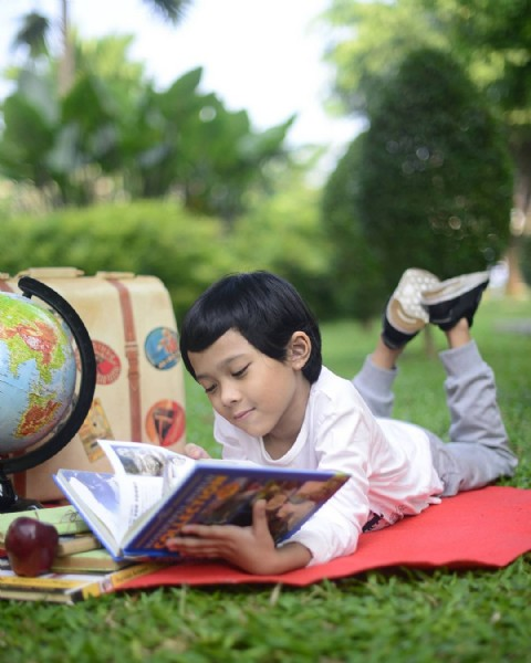 Photo by Anita Fitria on June 16, 2021. May be an image of 1 person, child and outdoors.