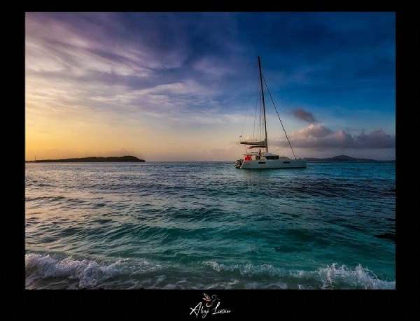 Photo by Alizé Lietaer Photographies in Martinique with @sunsetmartinique. May be an image of ocean and nature.