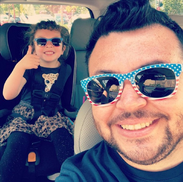 Photo by DMoreno on June 19, 2021. May be an image of 2 people, child and sunglasses.