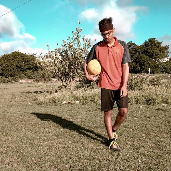 Photo shared by Abdur N Cheetah on June 08, 2021 tagging @abdurncheetah. May be an image of 1 person, standing, ball and outdoors.
