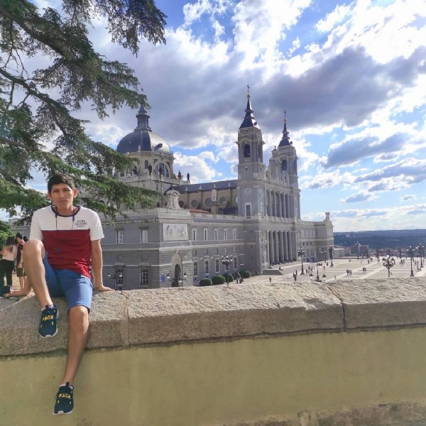 Photo by ivan torres on June 19, 2021. May be an image of 1 person, standing, monument and outdoors.