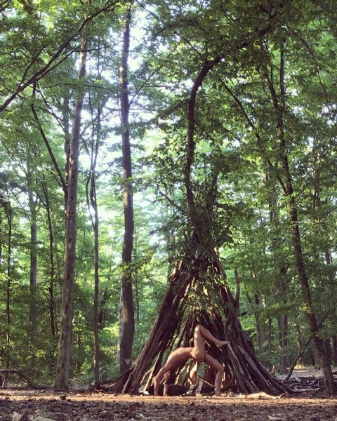 Photo by Lover|Vegan|ZeroWaste|FreeSoul in Teufelssee with @thoseveganguysblog. May be an image of nature and tree.