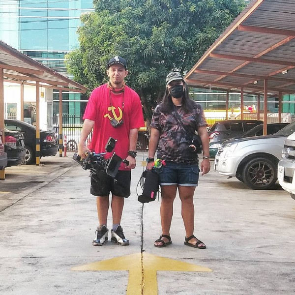 Photo by PM/DOP/DRONE_OP/MōVI_OP/1AC  in Bangkok Thailand. May be an image of 1 person, standing and outdoors.