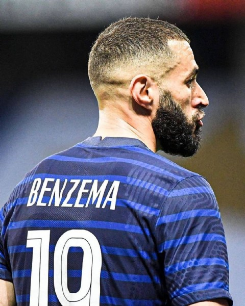 Photo shared by Benzema Family on June 19, 2021 tagging @karimbenzema. May be an image of 1 person and beard.