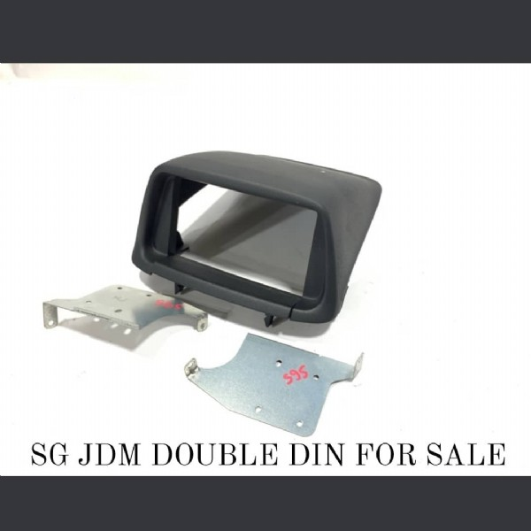 Photo by FORESTERPARTS  on June 19, 2021. May be an image of text that says '595. SG JDM DOUBLE DIN FOR SALE'.