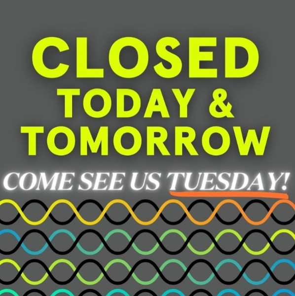 Photo by Lake Nona Performance Club on May 30, 2021. May be an image of text that says 'CLOSED TODAY & TOMORROW COME SEE US TUESDAY!'.