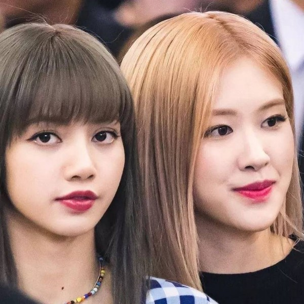 Photo by blinkarmy in Blackpink with @theblacklabel_official, @blackpinkofficial, @roses_are_rosie, and @lalalalisa_m. May be a closeup of 2 people.