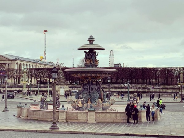 Photo by Mayito Gonzalez in Place de la Concorde. May be an image of outdoors and monument.