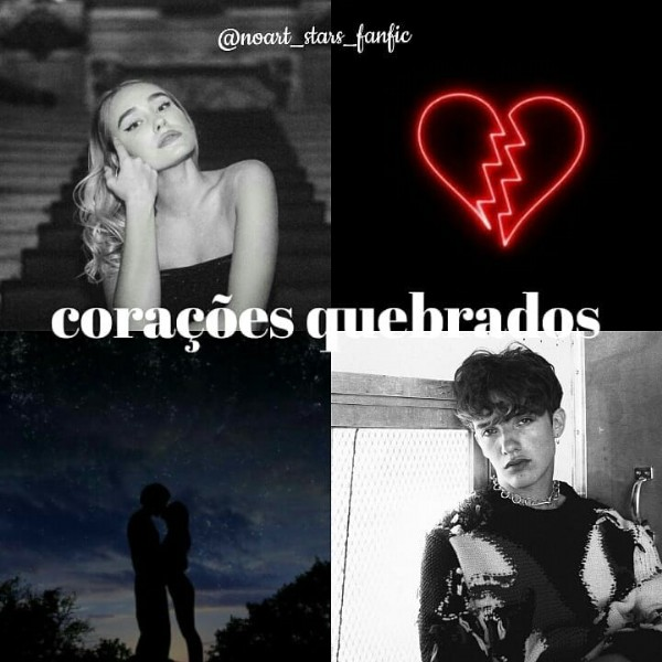 Photo by Taize in Nova York with @noahurrea, and @sinadeinert. May be an image of 2 people and text that says '@noart_stars_fanfic corações gmehrados'.