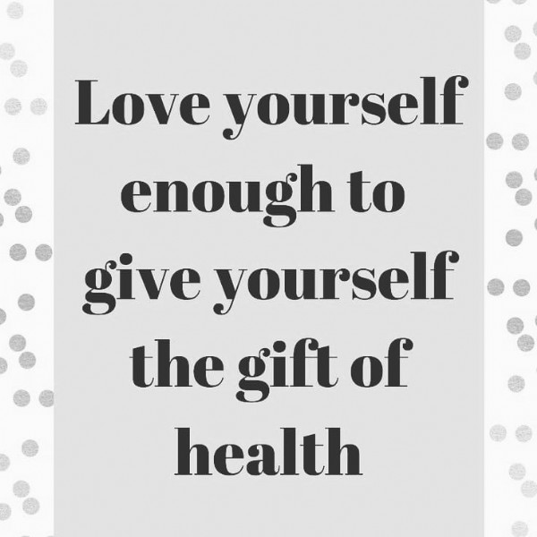 Photo by keto_planner_for_you on July 29, 2021. May be an image of text that says 'Love yourself enough to give yourself the gift of health'.