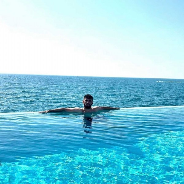 Photo shared by MHSC on June 17, 2021 tagging @jordanferri. May be an image of 1 person, sky and pool.
